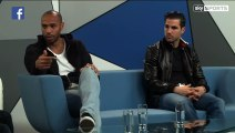 Thierry Henry destroys entire Chelsea squad in front of Fabregas.