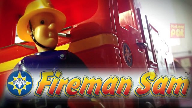 episode New Fireman Sam Episode with Toys Postman Pat Peppa Pig English Little Sunflowers