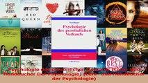 Lesen  Psychologie des persönlichen Verkaufs Lehr Und Handbucher Der Psychologie Lehr und Ebook Frei
