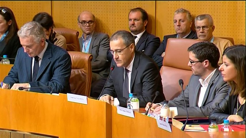 Discours de Jean-Guy Talamoni, président de l'Assemblée de Corse