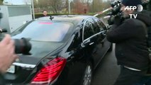 Sepp Blatter attends FIFA hearing