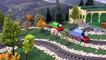 Thomas and Friends Trackmaster Talking James Play Doh Episode | Juguetes de Thom