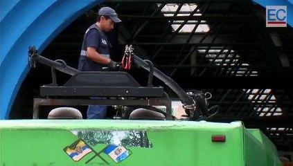 El mantenimiento del Trolebús