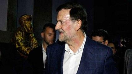 Agresión a Rajoy en Pontevedra