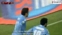 Alessandro Matri Goal Lazio 1 - 1 Udinese Coppa Italia 17-12-2015