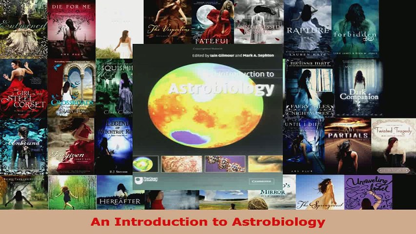Download  An Introduction to Astrobiology Ebook Free