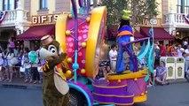 Mickeys Soundsational Parade in Disneyland from Main Street
