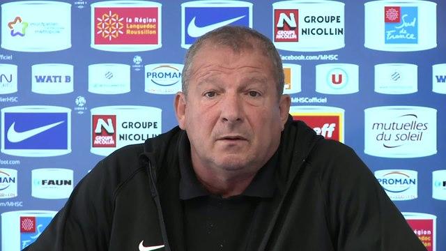Foot - L1 - MHSC : Courbis «Les matches retour seront tous très compliqués»
