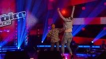 Clown Emeli Sandé (Dave) | The Voice Kids 2015 | Blind Auditions | SAT.1