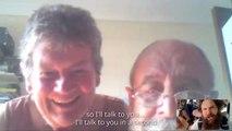 Appel Skype avec ses parents lors d'un saut en parachute