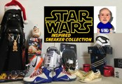 Star Wars Sneaker Collection of Dj Delz Featuring adidas,Nike,Vans & More #StarWars The Force Awakens