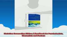 Christian Counseling Ethics A Handbook for Psychologists Therapists and Pastors