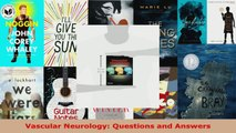 Read  Vascular Neurology Questions and Answers Ebook Free
