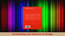 Architecting the Internet of Things PDF