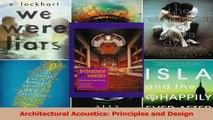 PDF Download  Architectural Acoustics Principles and Design Read Full Ebook