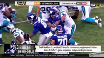 ESPN First Take - Odell Beckham Jr. & Josh Norman Comment After Panthers vs Giants
