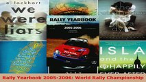 Read  Rally Yearbook 20052006 World Rally Championship EBooks Online