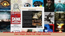 Read  American Automotive Design Trends  The Couture Car High Style for High Society EBooks Online