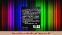 Download  Kane Slater Brothers Volume 3 PDF Online