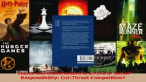 Read  Values and Stakeholders in an Era of Social Responsibility CutThroat Competition Ebook Online