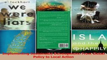 Read  Implementing Sustainable Development From Global Policy to Local Action PDF Online