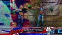 The Funkadactyls vs. Alicia Fox and Rosa Mendes