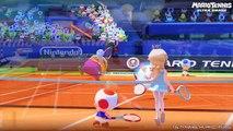 "Mario Tennis: Ultra Smash - ""No Gimmicks"" Simple Mode Gameplay (60fps)"