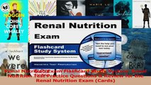 Renal Nutrition Exam Flashcard Study System Renal Nutrition Test Practice Questions  PDF