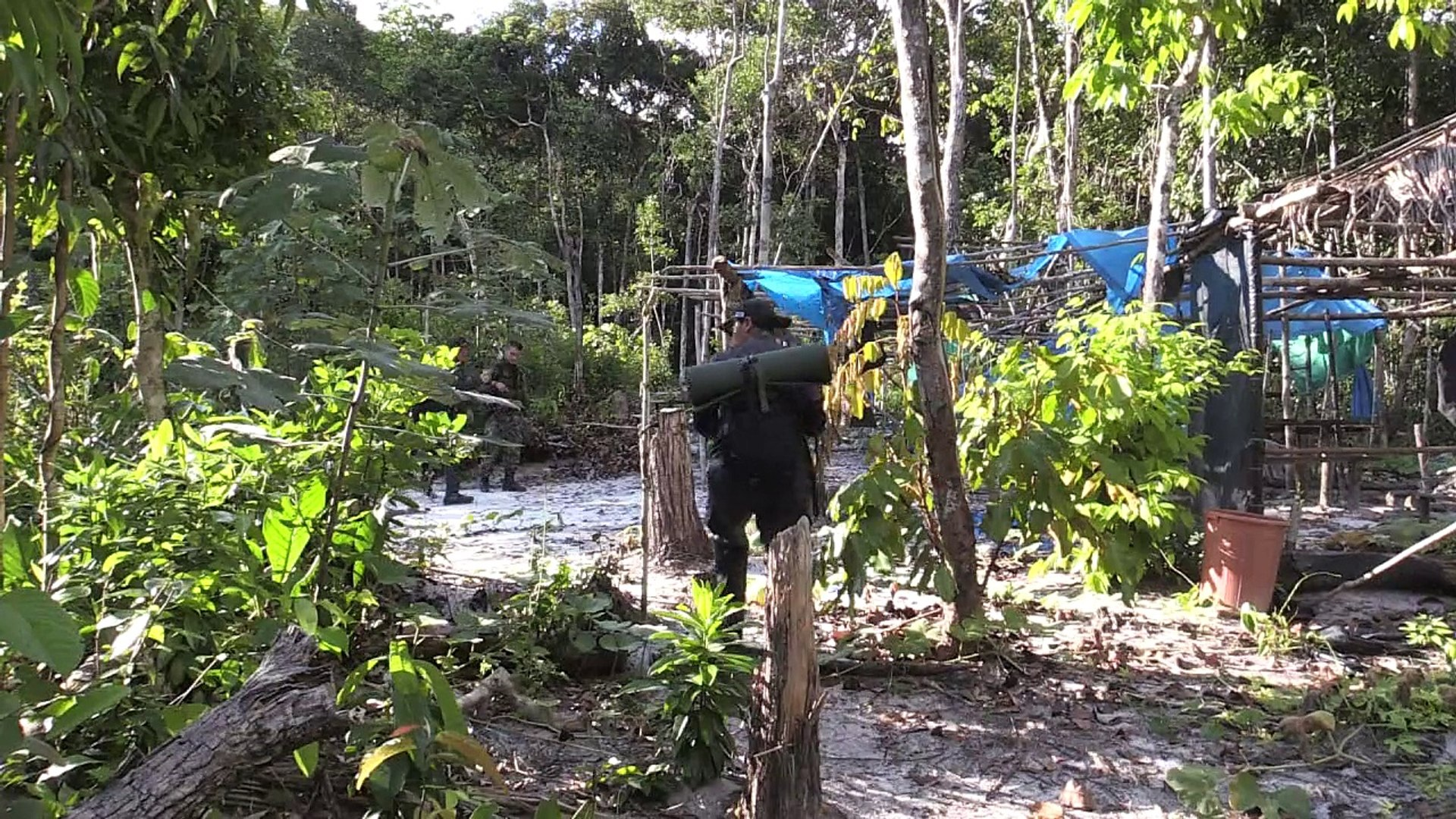 'Beaches' from illegal mining scar Colombia's Amazon