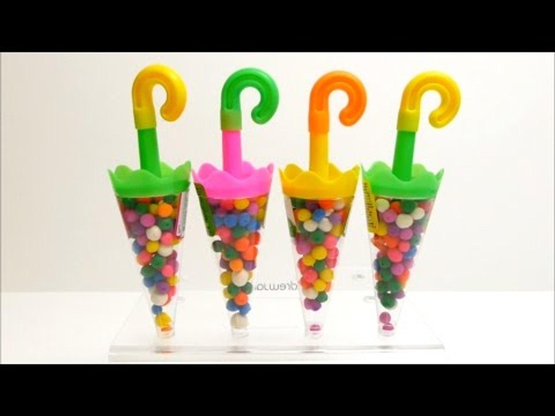 Fancy Umbrella Surprise Play-Doh Dippin Dots Toys Fun