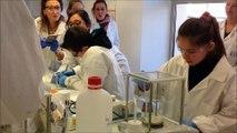 Découverte du monde de la chimie et de la parfumerie, des arômes et des cosmétiques par des écoliers accompagnés par l