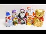 Kinder Santa Claus, Snowman, Milka Nut Cracker, Chocolate Teddy Bear Christmas 2015 Edition