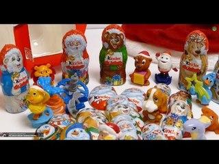 38 Minutes - Kinder Surprise Egg Advent Calendar 24 Days Compilation