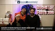 Sound Management Corporation - Auguri di Buon Natale e Buon Anno 2016