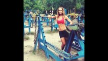 MARGRET GNARR - Taekwondo Star & Fitness Model: Workout Routines For Muscle Building @ Ice