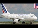 Dua pesawat penerbangan Air France dialihkan karena ancaman bom