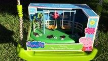 swing PEPPA PIG PICS - Peppa Pig Swing Playground Playset fun