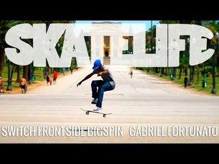 Switch Frontside Bigspin | #SKATELIFE Tutorial | Gabriel Fortunato