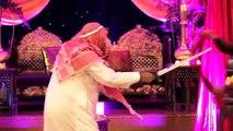 Funny Mehndi Dance 2015 - Desi vs. Arab skit! Pakistani wedding Hammad   Mehar