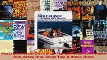 Read  MerCruiser Stern Drive Shop Manual 19951997 Alpha One Bravo One Bravo Two  Bravo Three Ebook Free