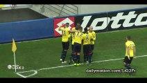 Sekou Cissé Goal - Sochaux 1-0 AC Ajaccio - 18-12-2015