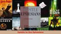 Download  Epistle to the Ephesians Ebook Free