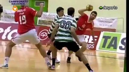 Andebol :: 11J :: Sporting - 26 x Benfica - 17 de 2011/2012