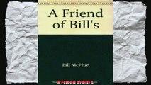 A Friend of Bills