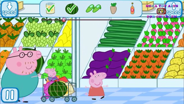 Peppa Pig's Shopping | Best app demos for kids | Game play | Best iPad app demo for kids
