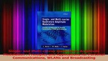 Single and Multicarrier Quadrature Amplitude Modulation  Principles and Applications PDF