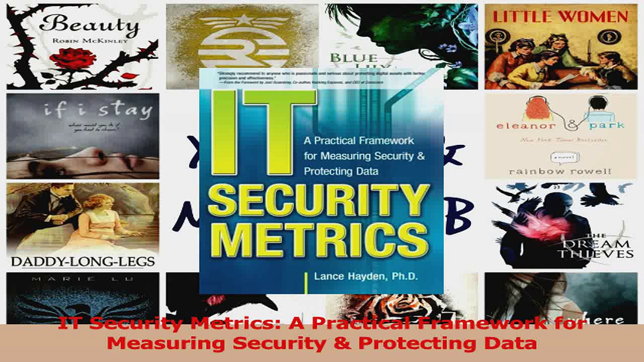 IT Security Metrics A Practical Framework for Measuring Security  Protecting Data Read Online