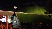 Sortie de Mylene Farmer après le concert -  Bercy - 13/09/13