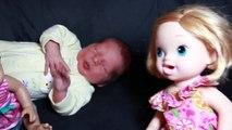 newborn Baby Alive BOY BABY Newborn AllToyCollector New Baby - Baby Alive Dolls in LOVE Toys Video