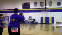 Mom Sinks Half-Court Shot In Miracle Throw And Wins Tuition For Daughter